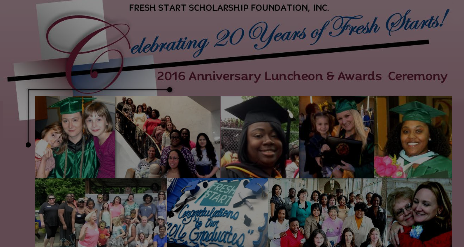 Fresh Start 20th Anniversary Luncheon & Awards Ceremony