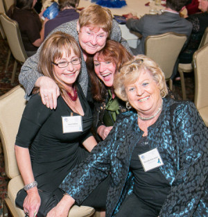 Clockwise, from left: Janet Killian, Pat Forrester, Maria Hess and Priscilla Rakestraw.